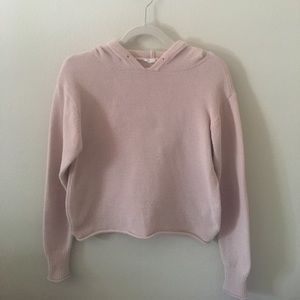Blush pink soft comfy hoodie